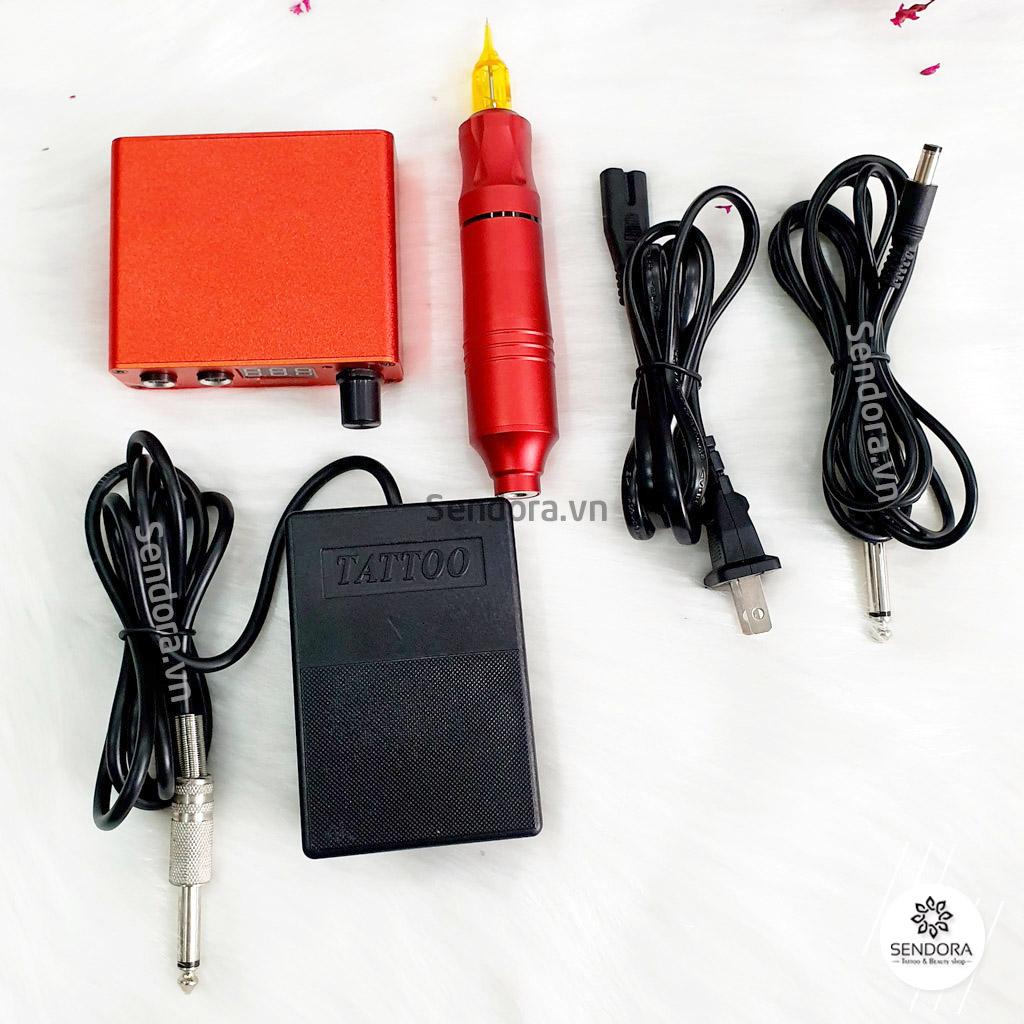Hình ảnh bộ một máy Pen màu đỏ