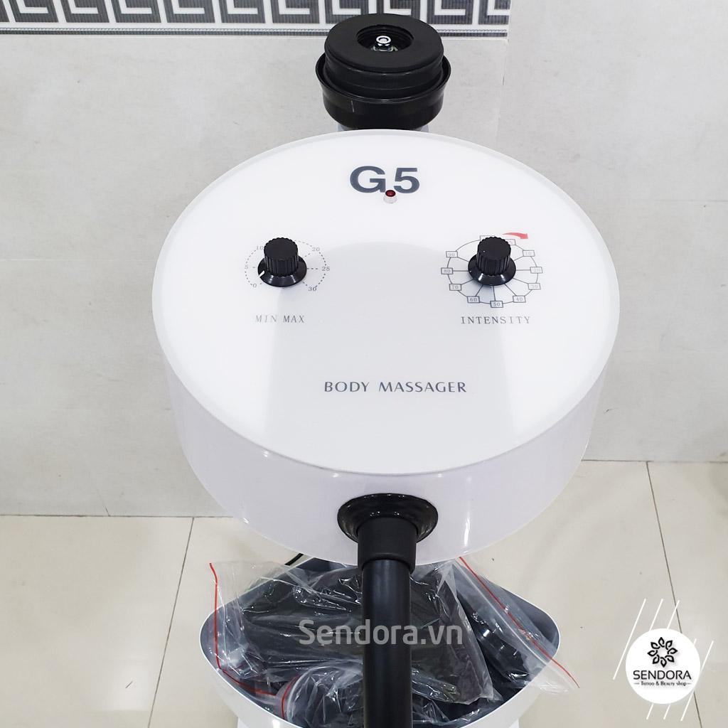 Máy rung giảm béo G5 tròn