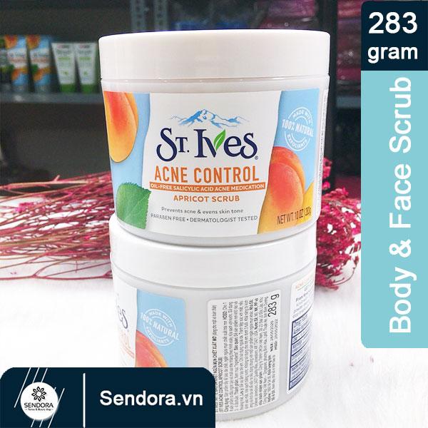 Acne control apricot scrub St.Ives