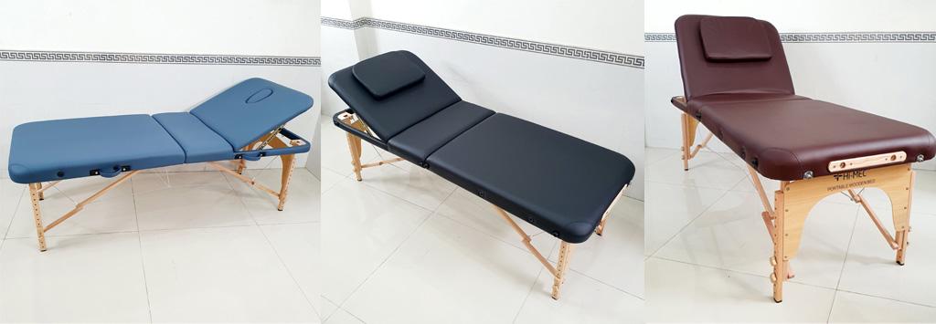 3 màu chính của dòng giường vali HI-MEC HMBB-8102-70 | Giường vali di động chính hãng
