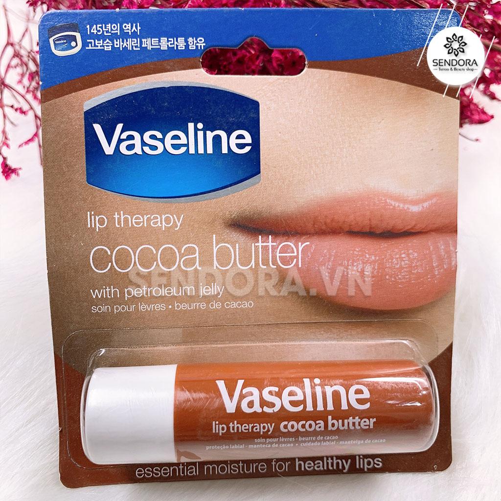 Dưỡng Vaseline chiết xuất Cacao và bơ hạt mỡ