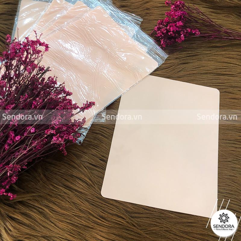 Da hồng silicon tập phun xăm