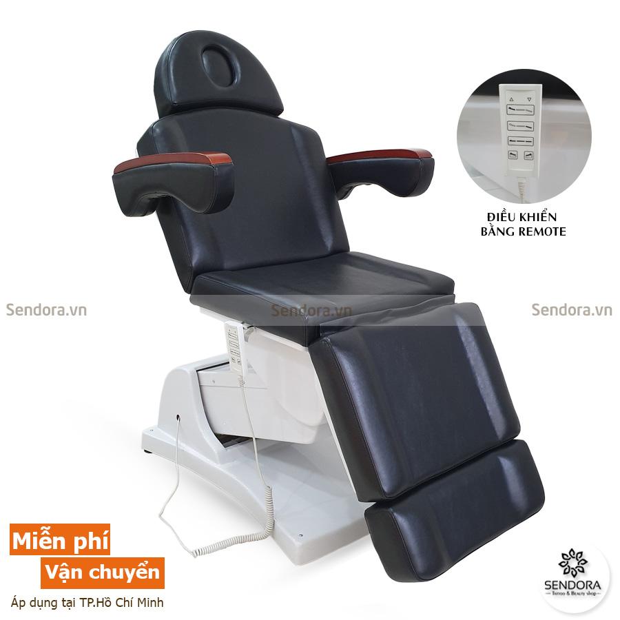 Ghế phun xăm thẩm mỹ chỉnh điện Hi-Mec HMBB-8021