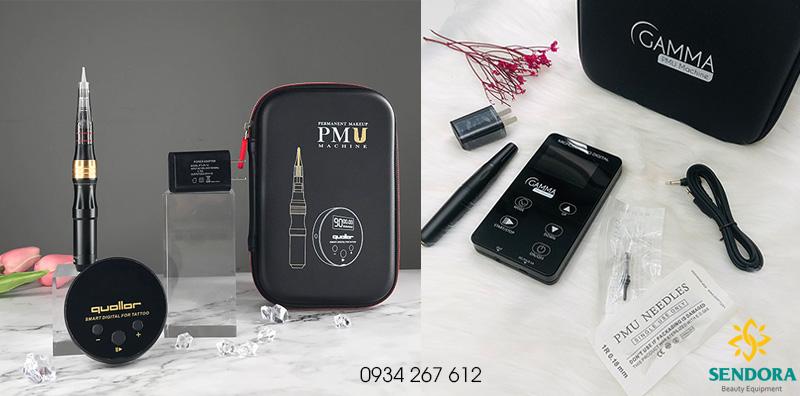 Máy phun xăm kỹ thuật số PMU dùng khắc sợi Hairstroke