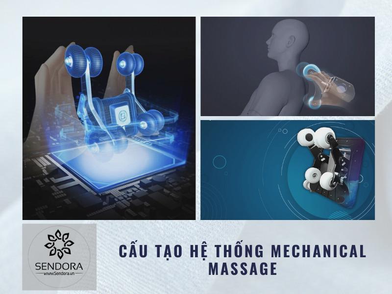 Cấu tạo hệ thống mechanical massage