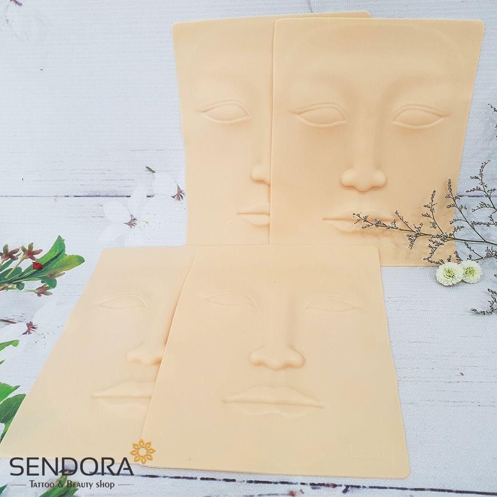 Da 3D tập xăm hình khuôn mặt