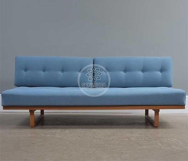 Ghế sofa nail băng dài có thể dùng để làm ghế tiếp khách hoặc ghế dành cho khách ngồi đợi