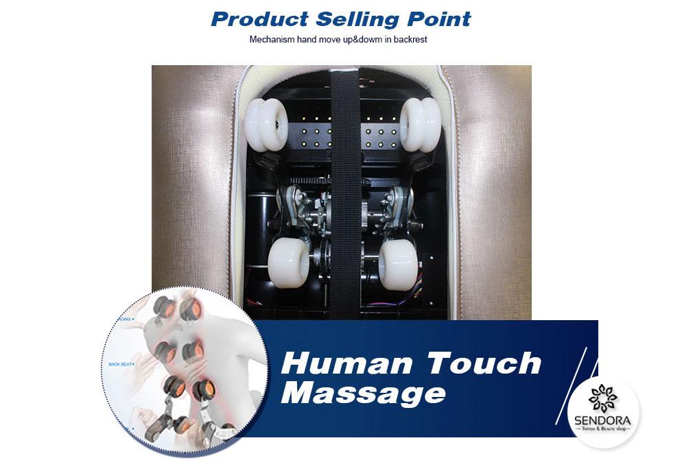 Hệ thống Mechanical massage cực đỉnh, cho cảm giác thư giãn tuyệt vời