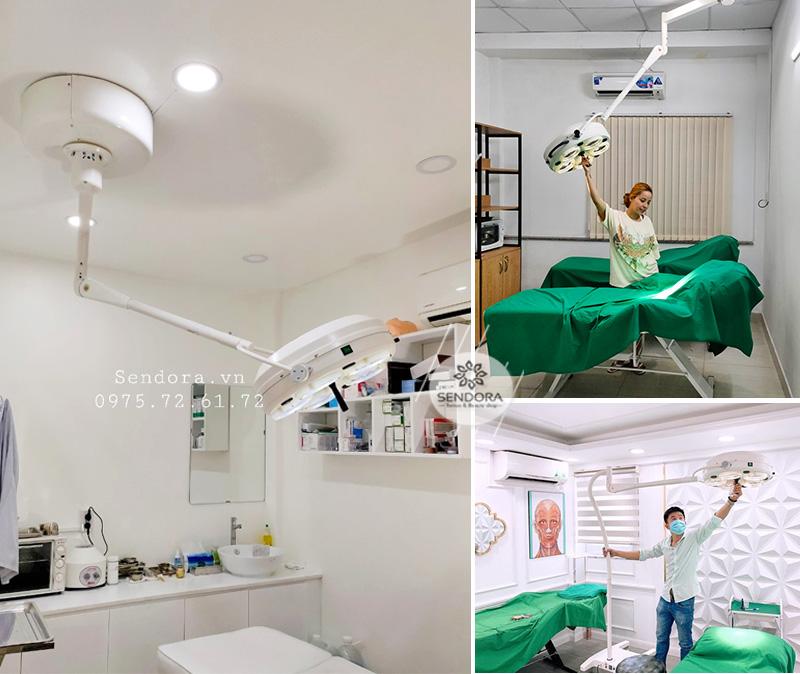 Đèn mổ dùng cho tiểu phẫu