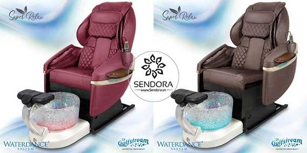 2 màu của ghế Pedicure Super Relax 9623