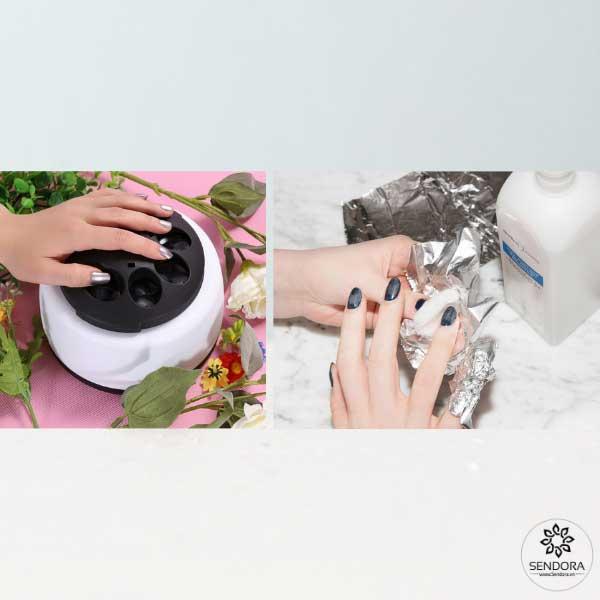Dụng cụ tẩy sơn móng tay