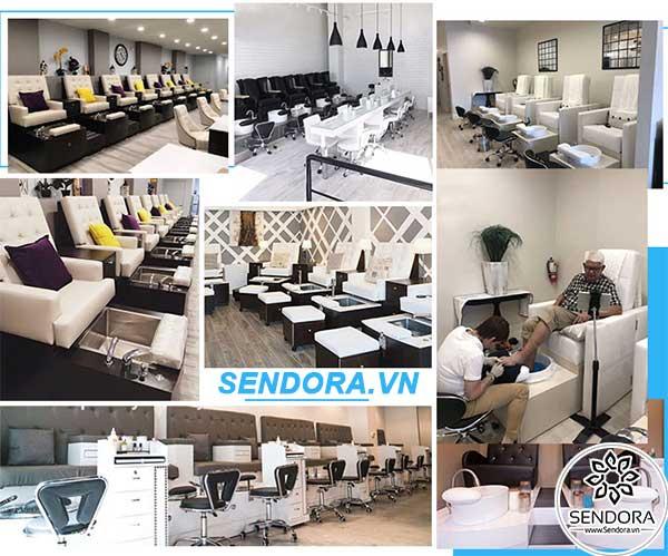 Sendora.vn chuyên bán ghế nail giá rẻ nhất thị trường TPHCM