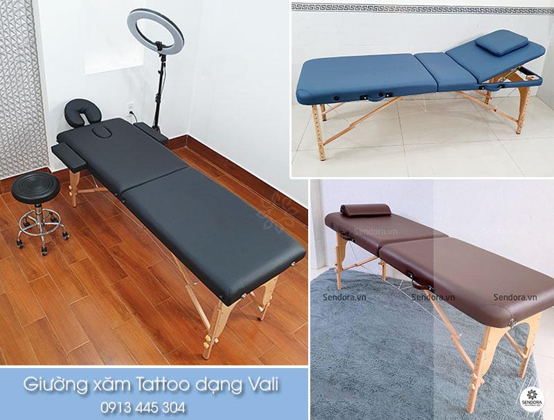 báo giá giường ghế xăm tattoo cao cấp dạng vali tp hcm