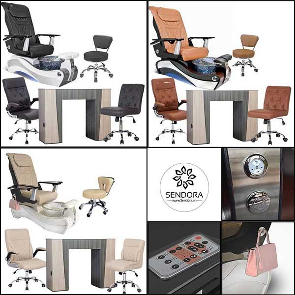 Bộ bàn ghế Pedicure Tspa New Beginning