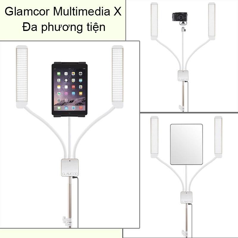 Đèn Glamcor Multimedia X cao cấp chính hãng màu Gold