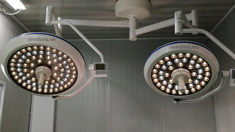 Đèn mổ Full led cao cấp 2 nhánh