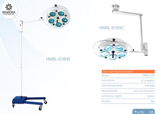 Đèn mổ phẫu thuật Hi-Mec Halogen