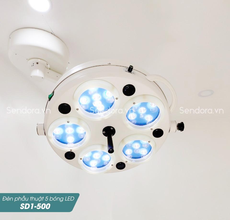 Mua đèn mổ treo trần chính hãng tại Sendora