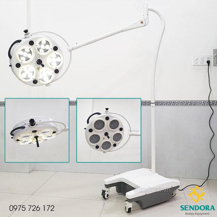 Đèn tiểu phẫu ánh sáng lạnh LED HMSL-525LS cho phòng mổ