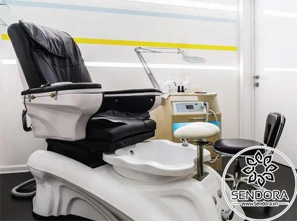 Mẫu ghế làm nail cao cấp hiện đại dùng cho các salon nail chuyên nghiệp