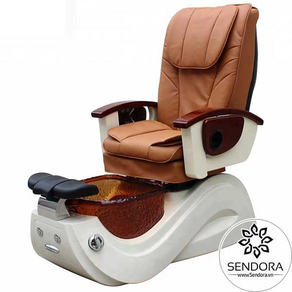 Ghế nail massage cao cấp Hi-MEC mẫu 8 có nhiều màu để bạn lựa chọn: Vàng, Đen, Trắng