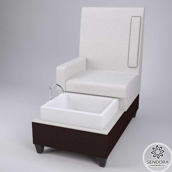 Mẫu ghế ngồi làm móng chân đẹp 2021