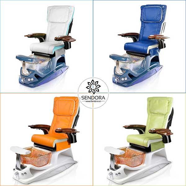 4 màu đẹp nhất của dòng ghế Pedicure Argento