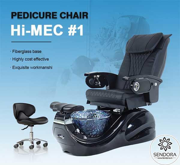 Ghế Pedicure cao cấp Hi-MEC mẫu 1 do Sendora.vn phân phối chính hãng toàn quốc