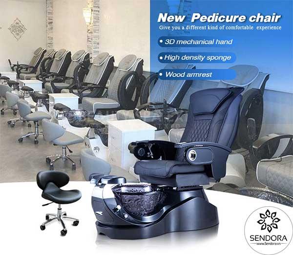 Ghế Pedicure cao cấp Hi-MEC mẫu 2 do Sendora phân phối chính hãng trên toàn quốc với giá tốt nhất
