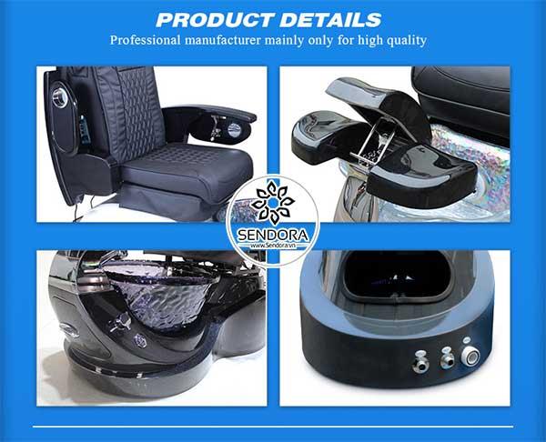Các thành phần chi tiết của ghế Spa Pedicure Hi-MEC mẫu 2