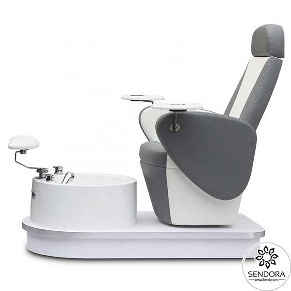 Mặt bên của ghế Pedicure làm nail cao cấp Hi-MEC mẫu 5