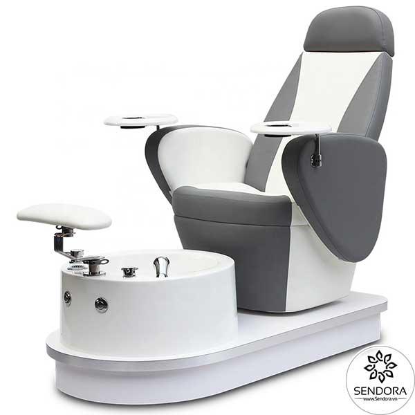 Ghế nail cao cấp Hi-MEC mẫu 5 chuyên dùng cho salon nail nhỏ chuyên nghiệp