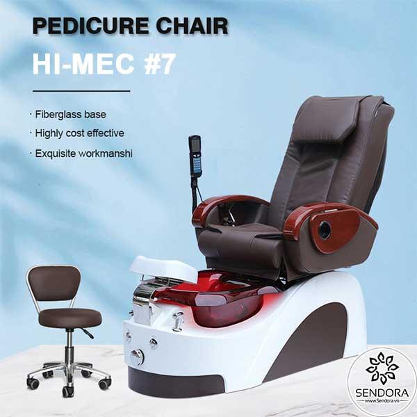 Ghế Spa Pedicure cao cấp Hi-MEC mẫu 7 do Sendora.vn phân phối chính hãng với giá tốt nhất thị trường hiện nay