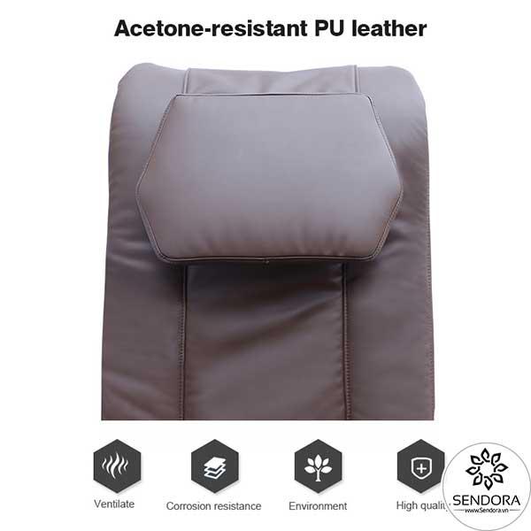 Ghế Spa Pedicure cao cấp Hi-MEC mẫu 7 được trang bị lớp da bọc đệm lưng và đệm ngồi bằng chất liệu cao cấp có khả năng kháng dung môi axeton siêu đỉnh