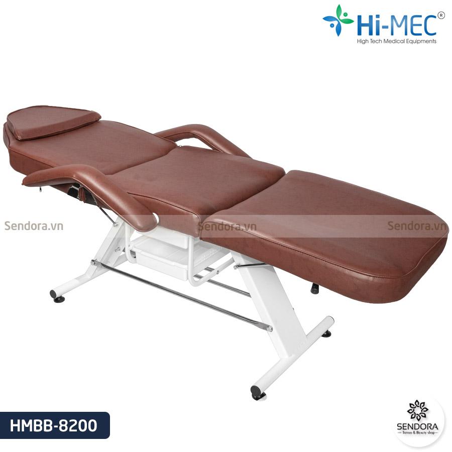 Ghế phun xăm giá rẻ màu nâu Hi-Mec HMBB-8200