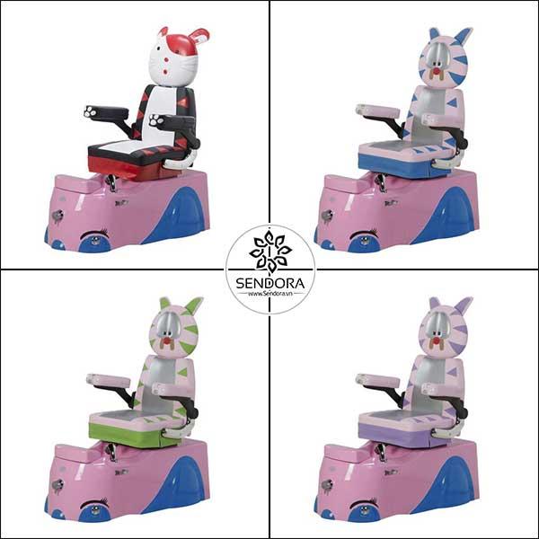 Mẫu ghế Spa Pedicure đẹp Hi-MEC hình mèo