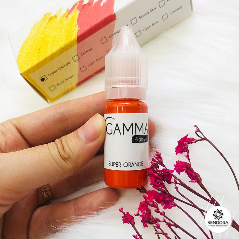 mực phun môi Gamma Super Orance Đài Loan