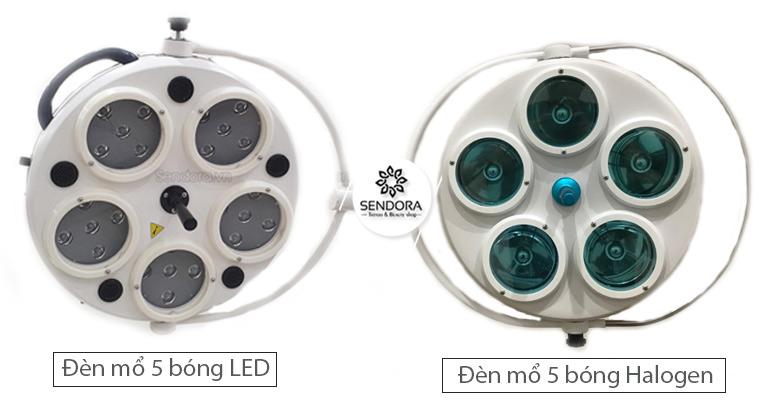 Đèn mổ Halogen và đèn mổ led khác nhau như thế nào?