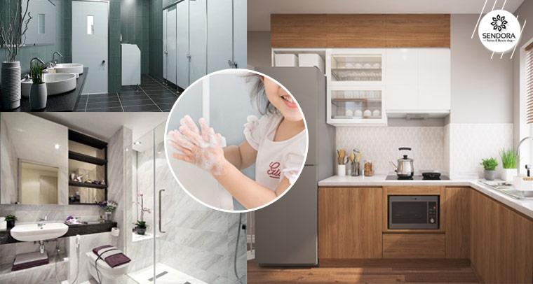 Ứng dụng máy rửa tay tạo bọt