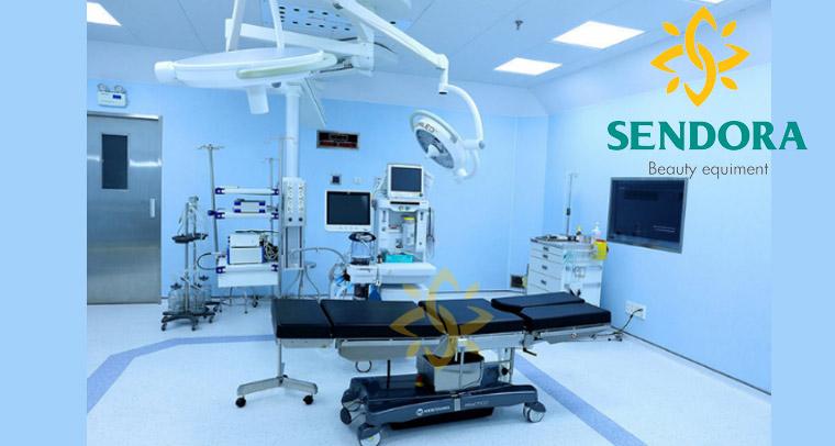 Các thiết bị phòng mổ thường được sử dụng