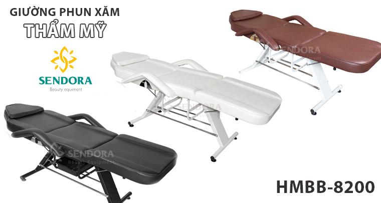 Giường phun xăm giá rẻ HMBB-8200