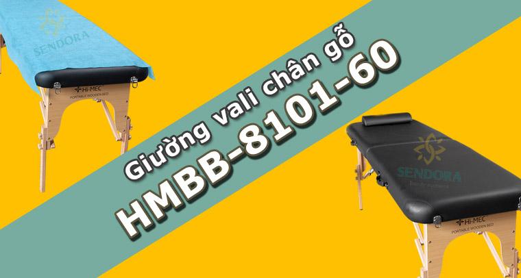 Giường vali chân gỗ HMBB-8101-60