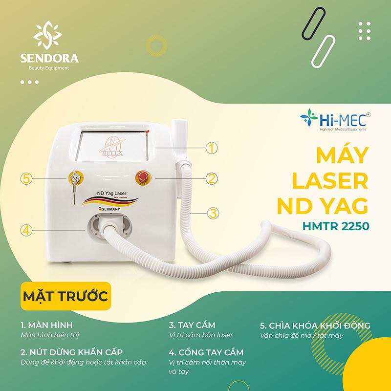 Máy Laser xóa xăm phát quang tay cầm Hi-MEC HMTR-2250