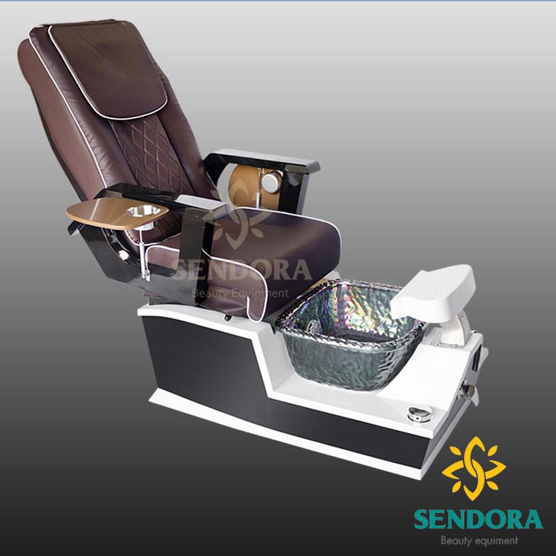 Ghế nail cao cấp có hệ thống Massage