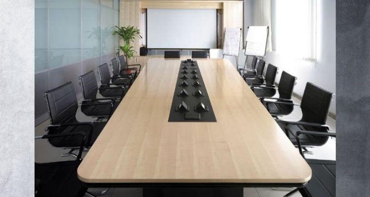 Bộ bàn ghế họp văn phòng hiện đại
