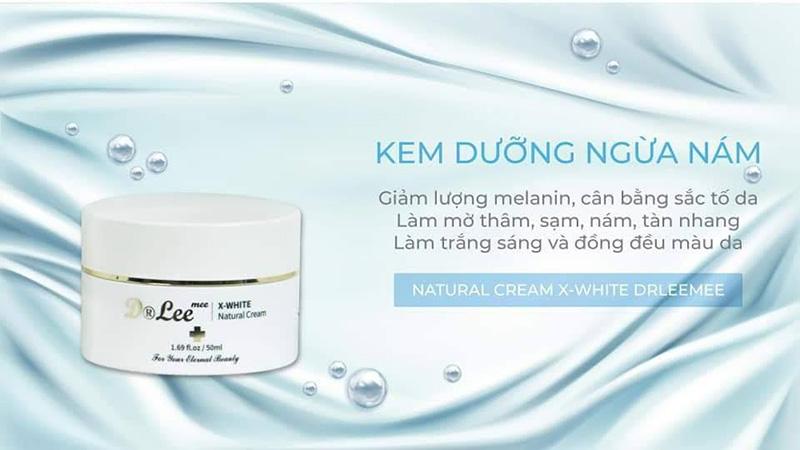 Kem ngừa nám dưỡng trắng X-White Dr Lee Mee 150ml