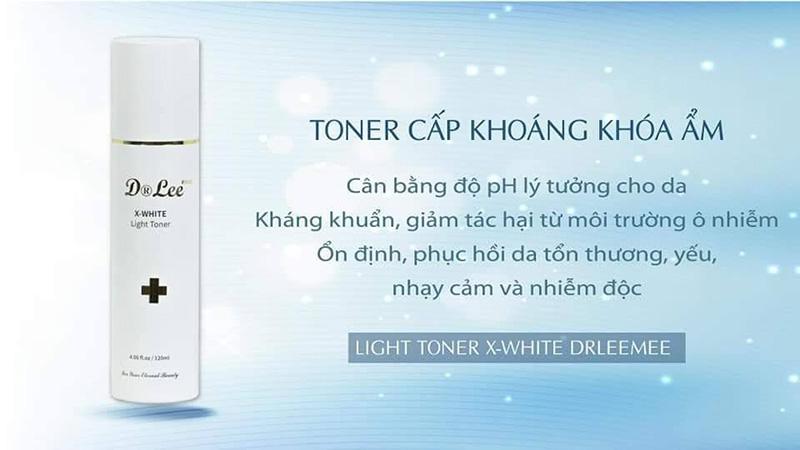 Nước hoa hồng X-White Dr LeeMee Light Toner 120ml