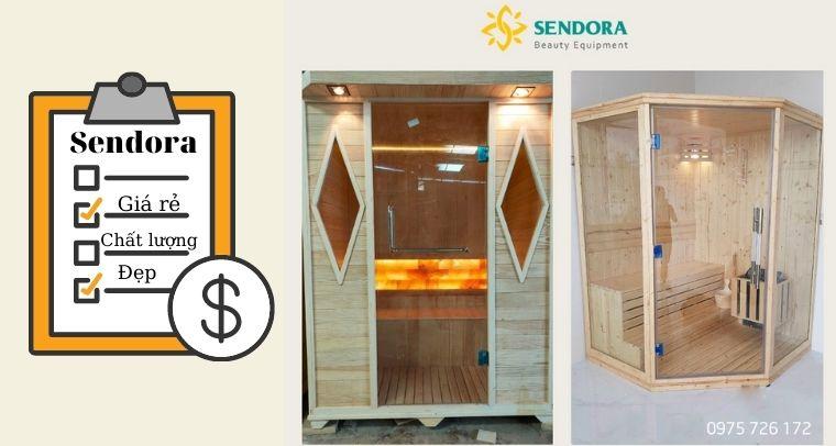 Bảng giá phòng xông hơi tại Sendora