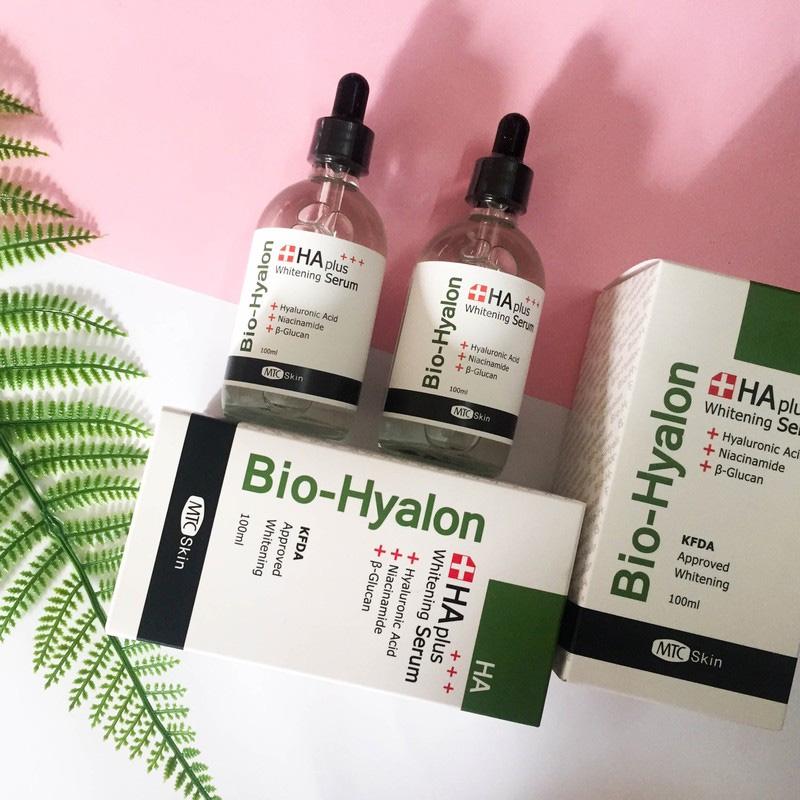Serum Bio – Hyalon Whitening là loại serum dưỡng trắng AH plus whitening chính hãng.