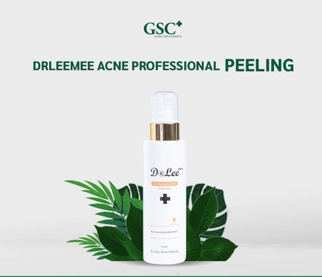Tinh Chất Kháng Khuẩn Dr. Leemee AcFree Professional Peeling, Bộ Trị Mụn Spa Dr. Leemee AcFree Professional